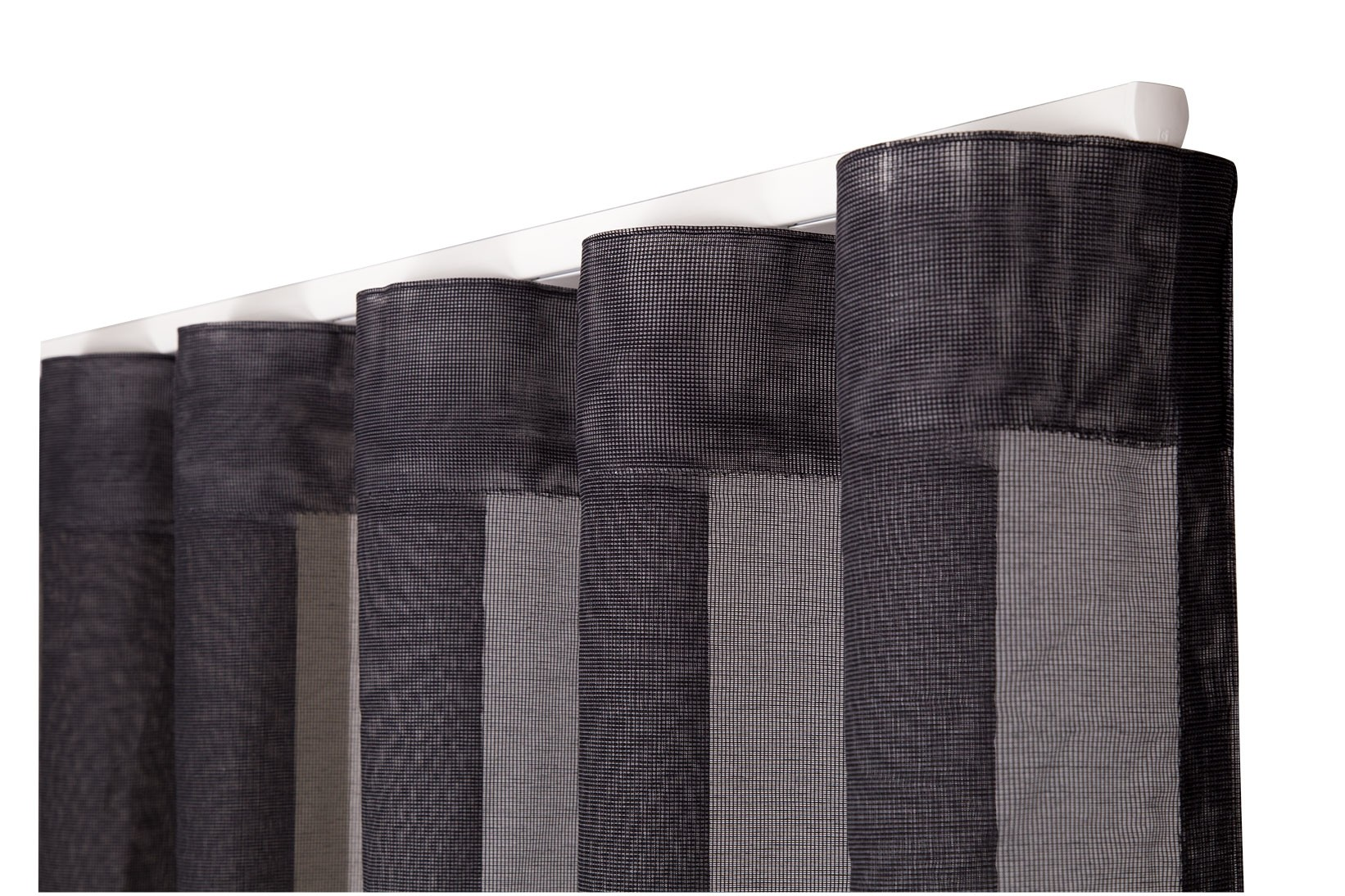 FLOW – FOR REGULARLY PLEATED CURTAINS