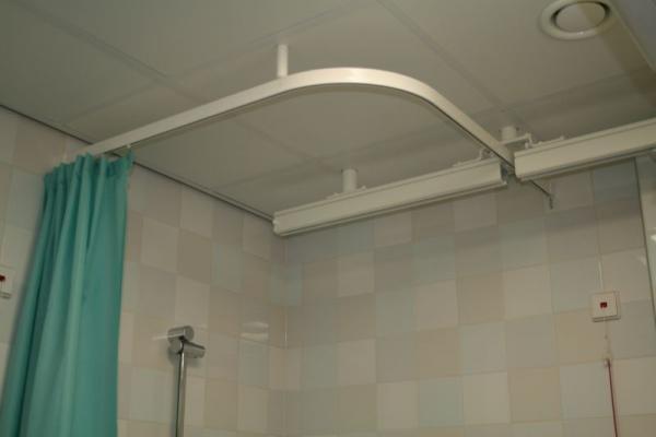 rail à rideau de douche - goelst