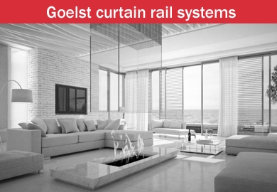 Goelst curtain rails